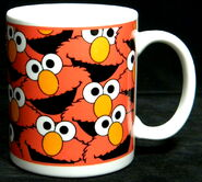 Sesame street general store elmo faces mug