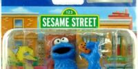 Sesame Street figures (Universal Studios Japan)