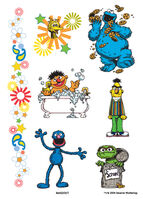 Sesame Street temporary tattoos (Sandylion)