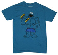 Muscle t-shirt cookie