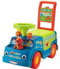 Elmo's petmobile