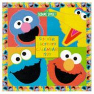 Sesame Street Sticker Activity Calendar 1999