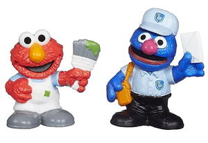 Playskool friends at work elmo grover