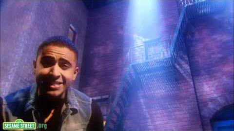 """Sesame Street """"Super Grover 2.0"""" with Jay Sean"""