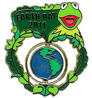 Disney earth day 2011 pin