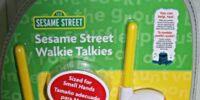 Sesame Street Walkie Talkies