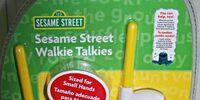 Sesame Street Walkie Talkies