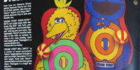 Sesame Street ball darts