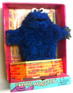 Topper educational toys 1971 cookie monster plush puppet 1