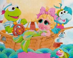 Mermaid - Make Believe Muppet Babies