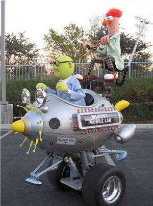 Muppet mobile laboratory