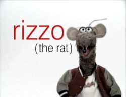 Muppetism Rizzo the Rat
