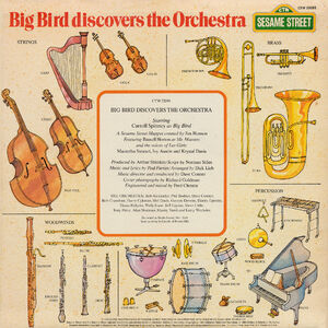 Big Bird Discovers the Orchestra back