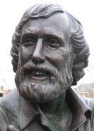 Jim Henson.Statue