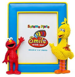 Sesame place frame elmo big bird