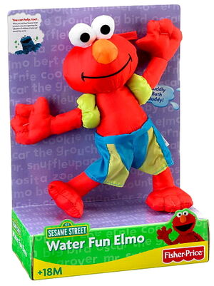 Water fun elmo