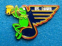Hockey pin st. louis blues