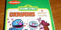 Sesame Street art supplies (Avalon)
