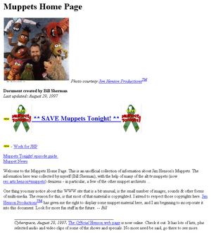 Muppetshomepage