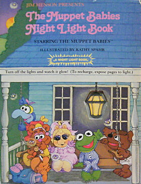 MuppetBabiesNightLightBook