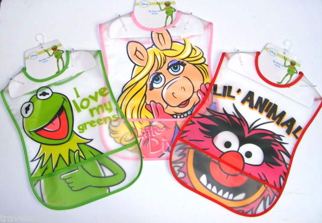 Muppet uk 2012 crumb catcher bibs