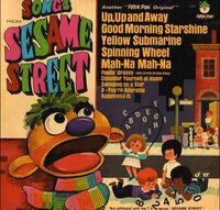 SongsfromSesameStreetRecordCover