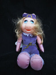 Dakin 1981 miss piggy plush 1