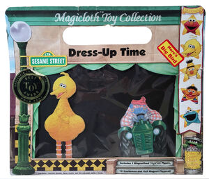Sesame Street Dress-Up Time toys 01 front box