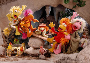 Fraggles seesaw