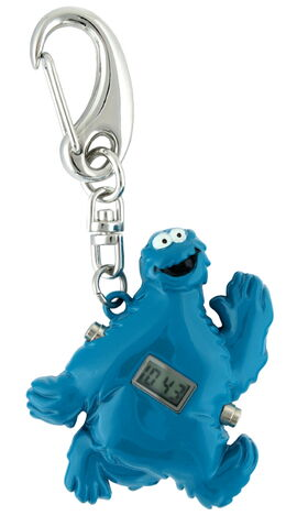 Viva time clip watch cookie monster