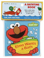 Elmo Wants a Bath