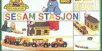 Sesam Stasjon Wooden Trainset