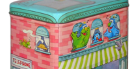 Sesame Street tin boxes (Applause)