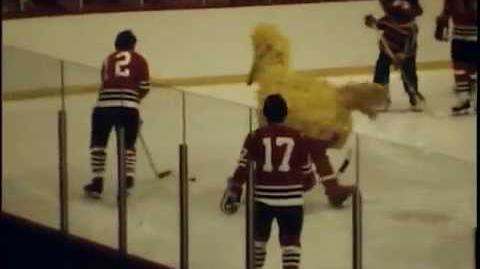 Chicago Blackhawks vs Sesame Street (circa 1970)