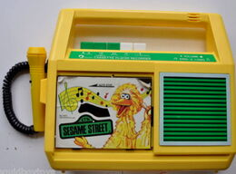Daylin 1986 big bird cassette player 2