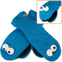 Cookie Monster mittens 2010