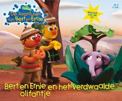Bert en Ernie en het verdwaalde olifantje