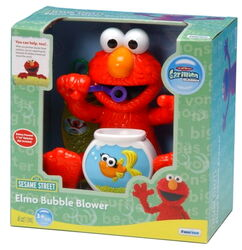 Elmo bubble blower funrise