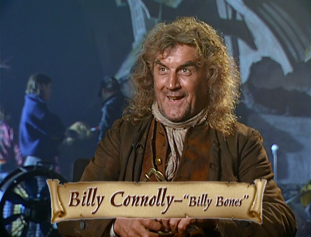Billy Connolly Muppets Treasure Island