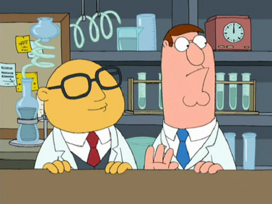 Ted Turner Family Guy Character