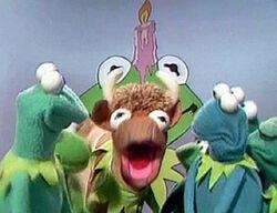 Kermit-cow