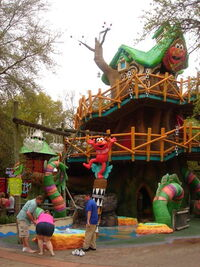 Elmo's treehouse