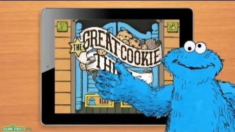 """Sesame Street """"The Great Cookie Thief...Starring Cookie Monster"""" App Preview"""