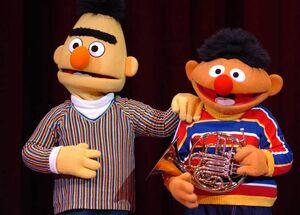 Elmo's green thumb B&E