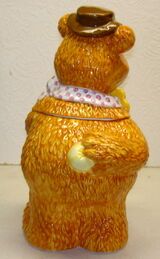 Treasure craft cookie jar fozzie bear 3
