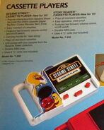 Tiger electronics 1981 sesame cassette player