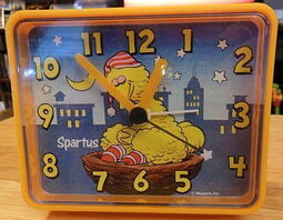 Spartus big bird alarm clock