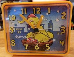 Spartus big bird alarm clock