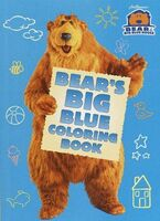 BearsBigBlueColoringBook