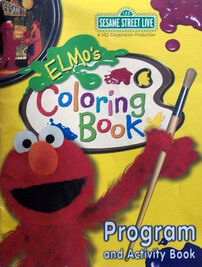 Elmo's Coloring Book